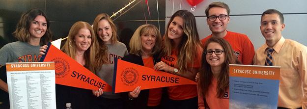 Syracuse University Admissions >> Admissions Los Angeles